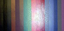selection of leatherette colors
